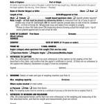 ISFC Specimen Claim Form