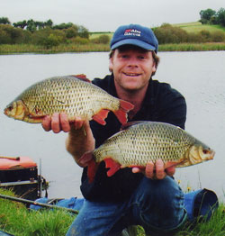 A record and a specimen, 1.425 Kg and 1.325 Kg for Terry Jackson, October '02