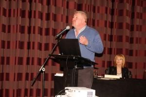 Guest speaker Jim Clohessy